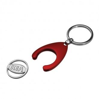 Рекламен ключодържател KIA с жетон